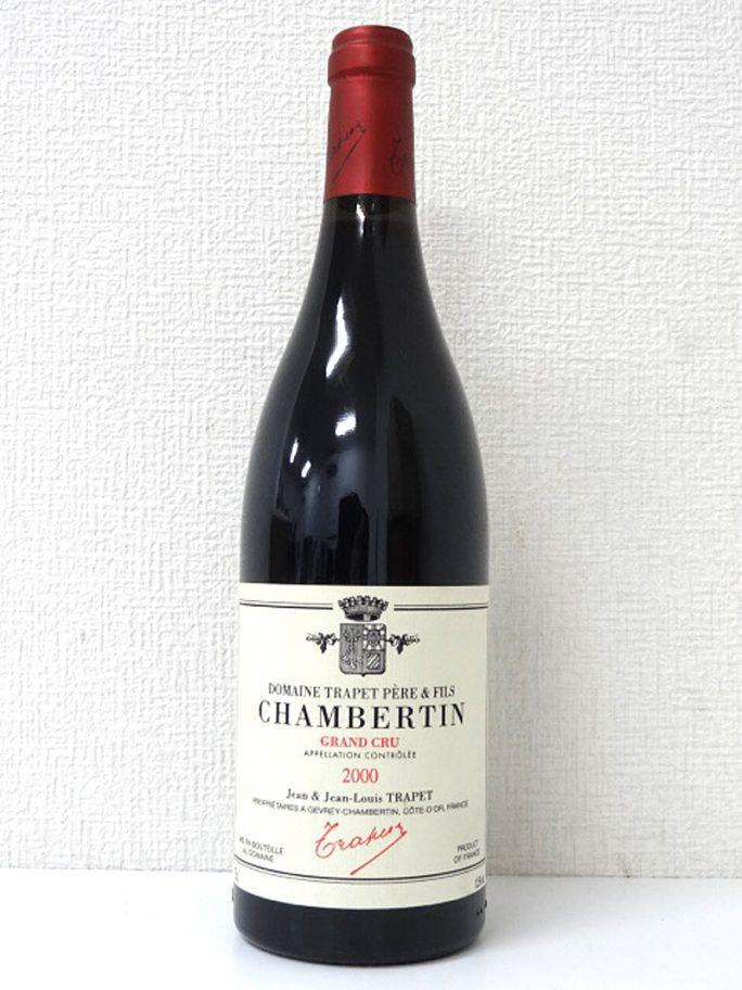CHAMBERTIN シャンベルタン 2000年 Domaine Jean Louis Trapet ドメーヌ・ジャン・ルイ・トラペ