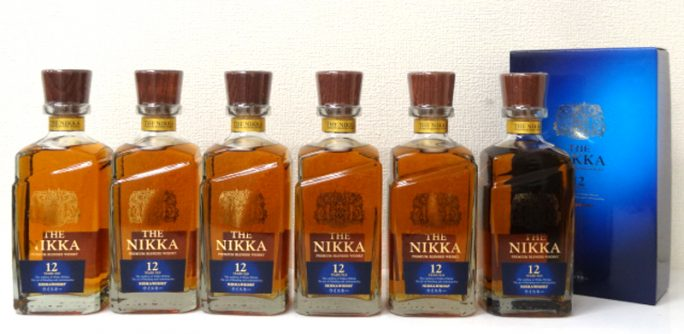 THE NIKKA ザ ニッカ 12年 700ml 6本