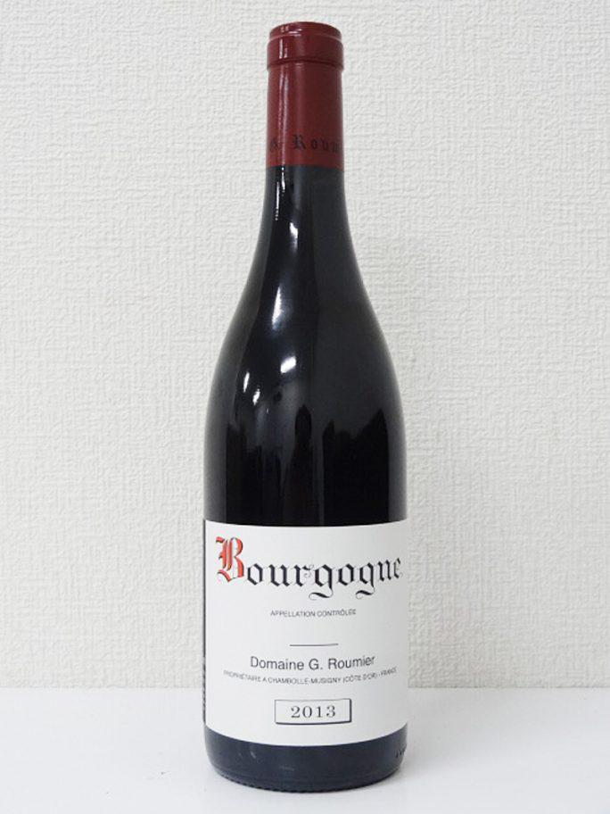 ブルゴーニュ ルージュ Bourgogne Rouge 2013 ジョルジュ ルーミエ G. Roumier