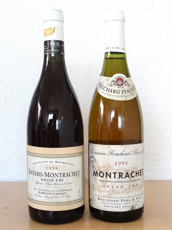 MONTRACHET モンラッシェ 1993 BOUCHARD ブシャール BATARD MONTRACHET バタール モンラッシェ 1996 CAILLOT カイヨ