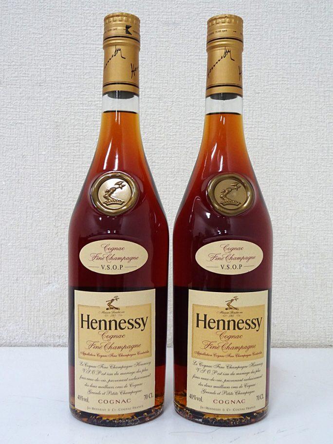Hennessy ヘネシー VSOP スリムボトル 2本