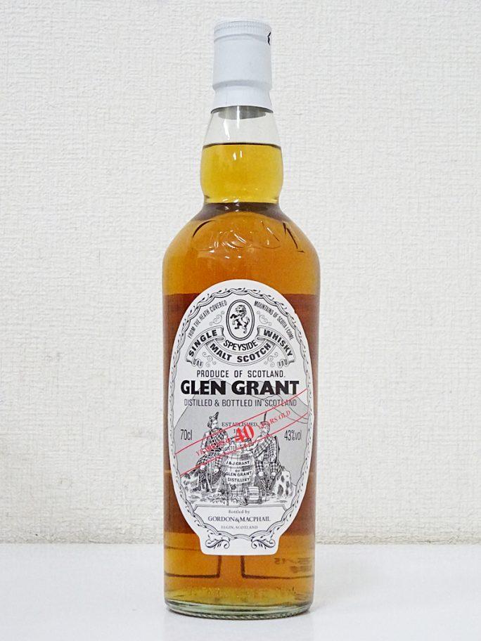G&M ゴードン&マクファイル GLEN GRANT グレングラント 40年 43%