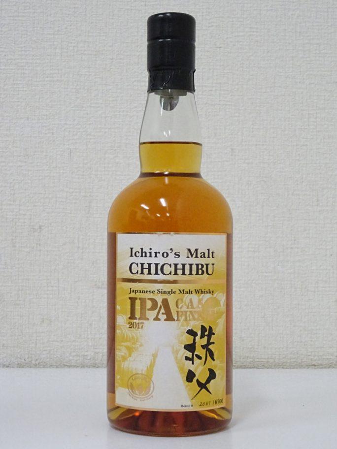 ichiro's malt イチローズモルト 秩父 IPA カスクフィニッシュ 2017