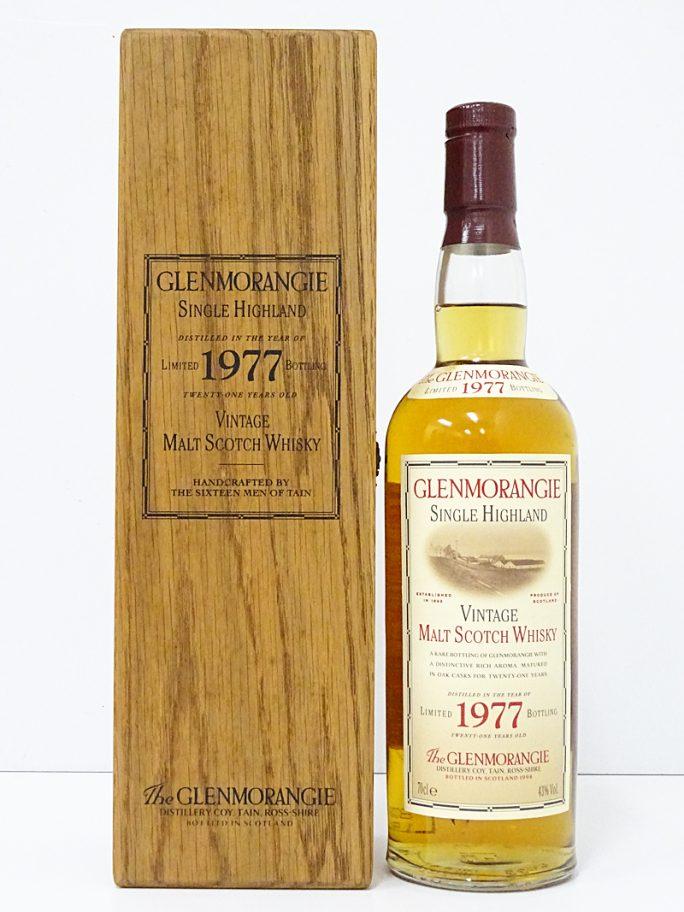 GLENMORANGIE グレンモーレンジ 1977 スコッチ モルト 700ml