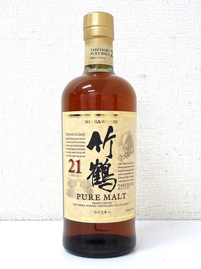ニッカ ウイスキー 竹鶴 21年
