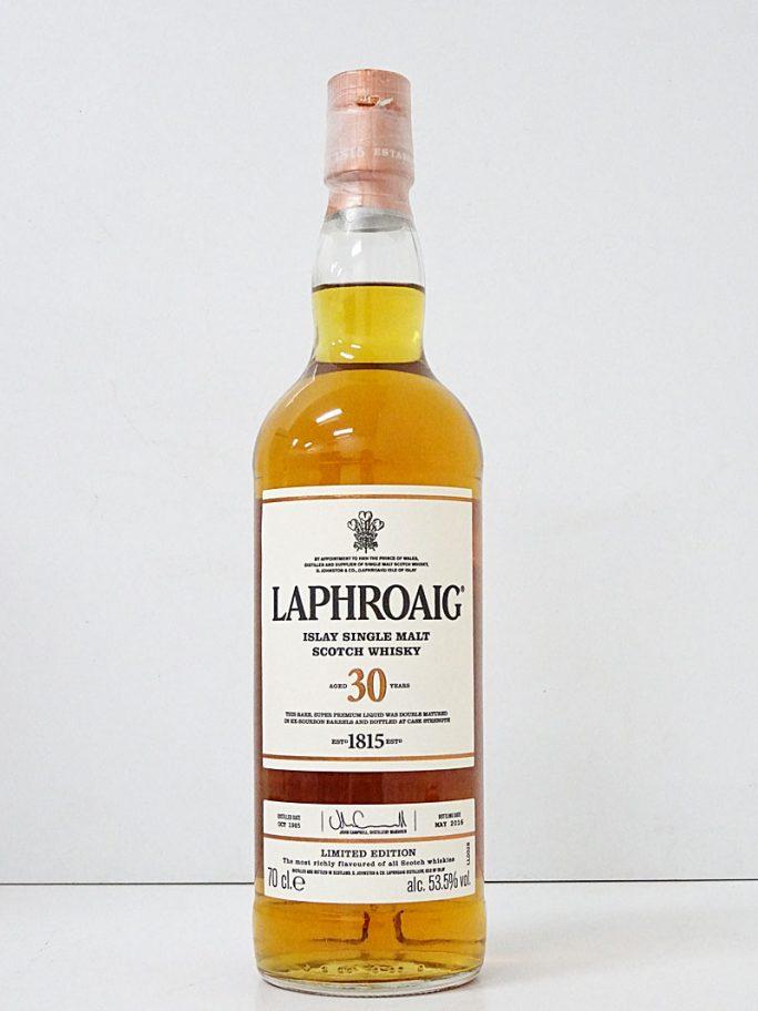 LAPHROAIG ラフロイグ 30年 リミテッド エディション 53.5% 700ml