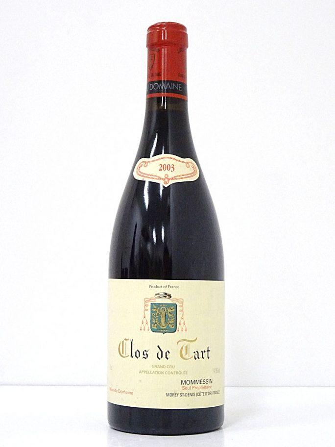 Clos de Tart クロ・ド・タール 2003 モメサン