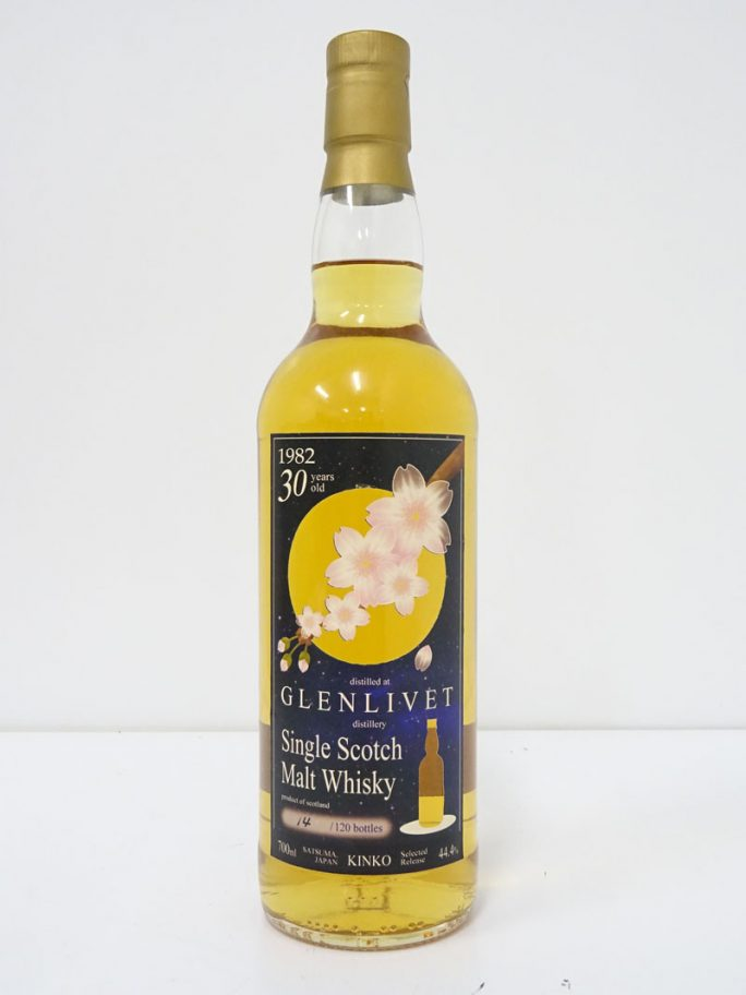 GLENLIVET グレンリベット 1982 30年 桜花 KINKO 44.4%