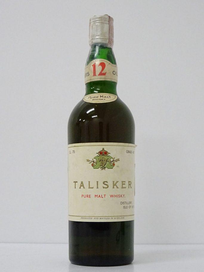 TALISKER タリスカー 12年 オールドボトル 1960年代流通 TDラベル
