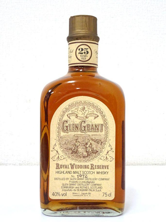 GLENGRANT グレングラント 25年 ロイヤル ウェディング リザーブ
