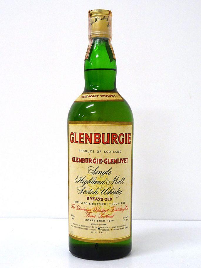 GLENBURGIE グレンバーギー 5年 オフィシャルボトル 750ml 40%