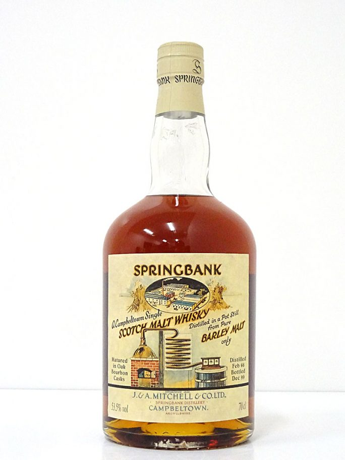 SPRINGBANK スプリングバンク 1966-1996 ローカルバーレイ