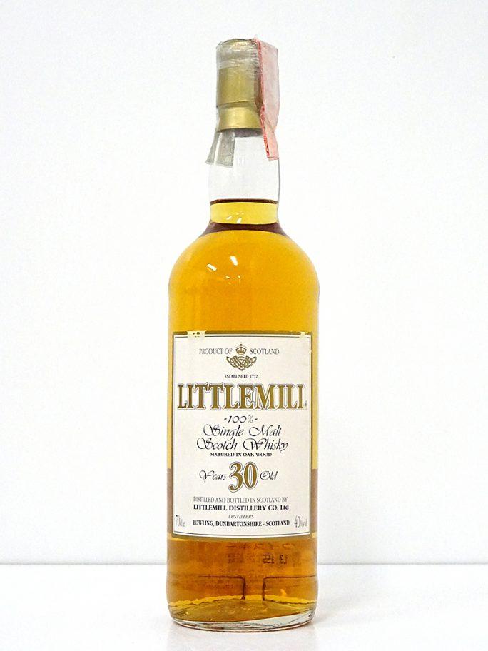 LITTLEMILL リトルミル 30年 シングルモルト 40% 700ml
