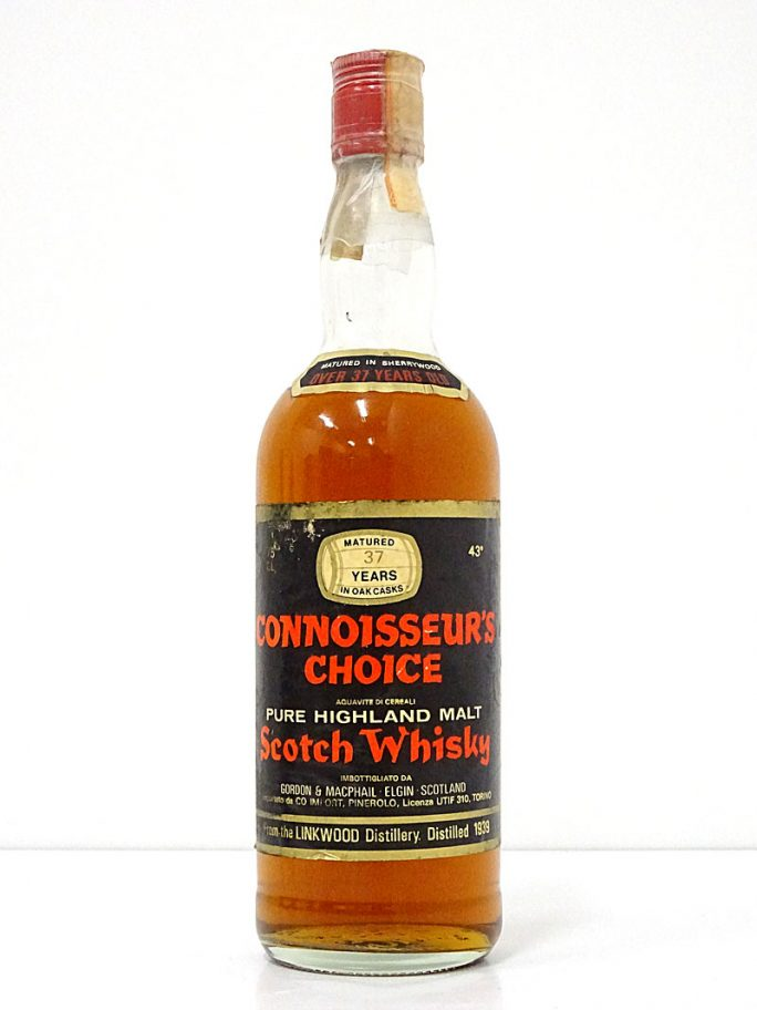 G&M LINKWOOD 1939 37年 リンクウッド コニサーズチョイス ジャコーネ 43% 750ml