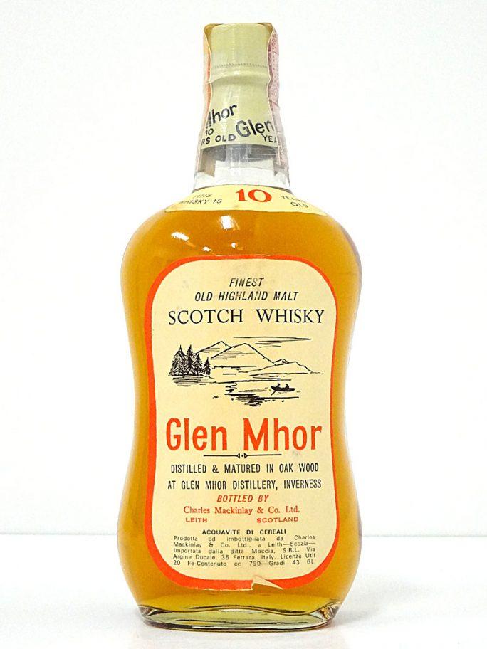 Glen Mhor グレン・モール オールドボトル Mackinlay 1970年代流通 43% 750ml