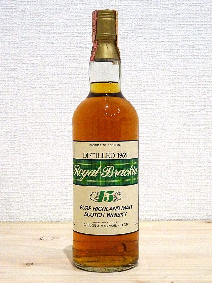 G&M Royal Brackla 1969 15年 ロイヤルブラックラ 40% 750ml