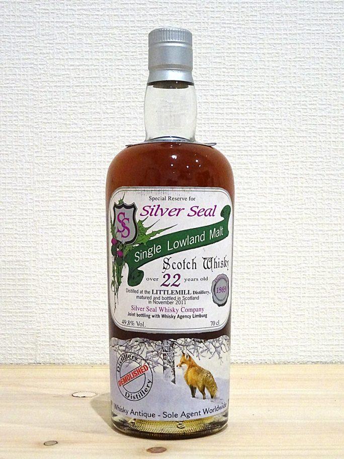 LITTLEMILL リトルミル 1989-2011 22年 Silver Seal シルバーシール 49.8% 700ml 120本限定
