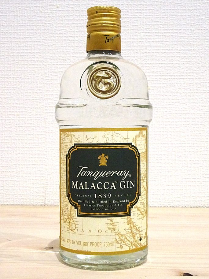 Tanqueray タンカレー マラッカジン オールドボトル 750ml