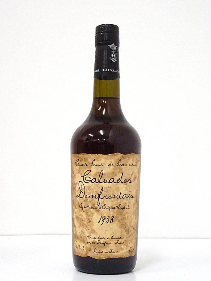 Lauriston Calvados Domfrontais 1958 ローリストン カルヴァドス ドンフロンテ 40% 700ml